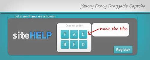12 jQuery CAPTCHA Plugin/Tutorial nâng an toàn website