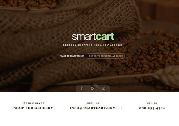 thiet ke web under construction/coming soon Smart Cart