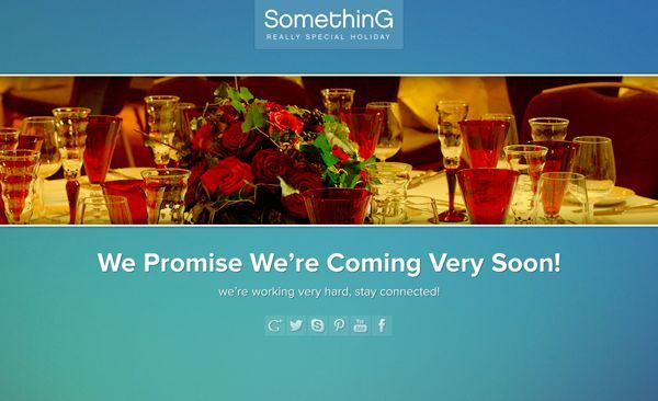 thiet ke web under construction/coming soon special-hoilday