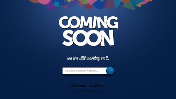 thiet ke web under construction/coming soon coming-soon-page