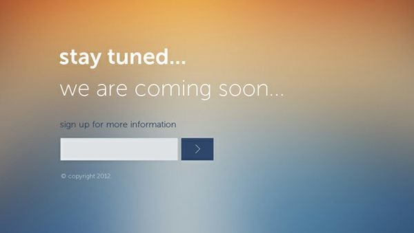 thiet ke web under construction/coming soon stay-tuned