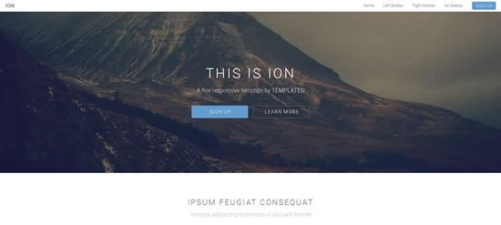 Ion-html5-templates