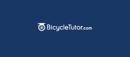 thiet ke logo xe dap Bicycle Tutor logo