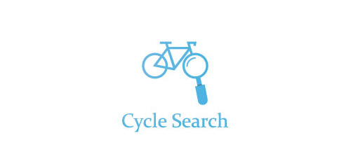 thiet ke logo xe dap search bicycle logo design