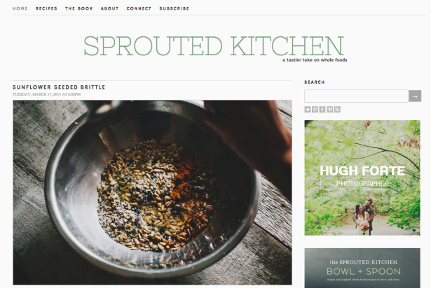 sprouted kitchen thiet ke web