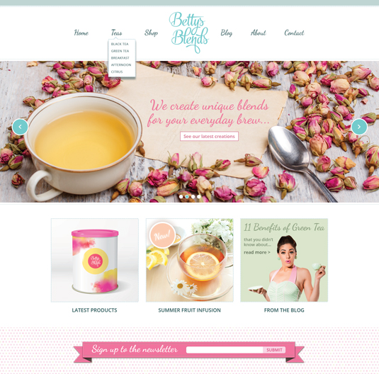 bettysblends thiet ke web