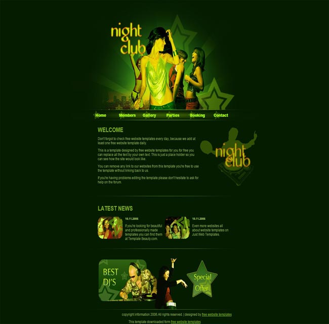 Yellow Night- thiet ke website mien phi