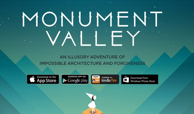 monument valley thiet ke website game
