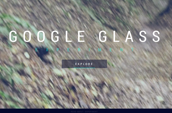 google glass experiment1 thiet ke website multimedia