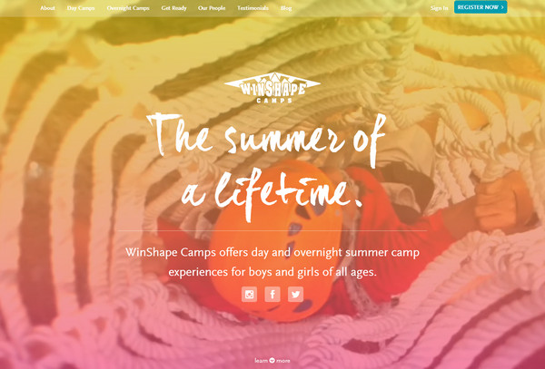 winshape camps thiet ke website mutimedia