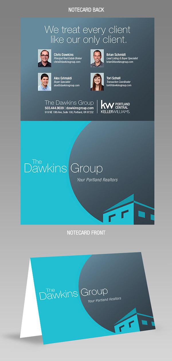The Dawkins Group Marketing Collateral thiet ke bo nhan dien thuong hieu sang tao