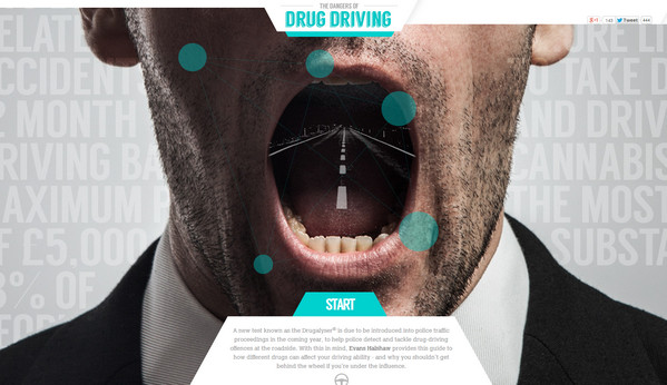 the dangers of drug driving