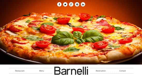 Barnelli - thiet ke website cafe