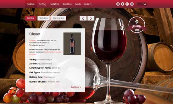 Wine thiet ke website cafe mien phi