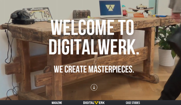 digital werk thiet ke website dep