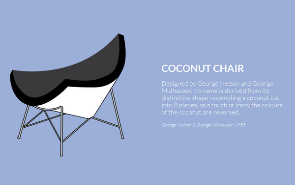 iconic furniture thiet ke web single page