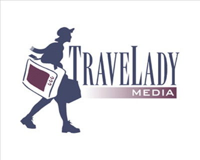 TraveLady Media thiet ke logo dep