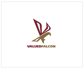 Valued Falcon thiet ke logo dep