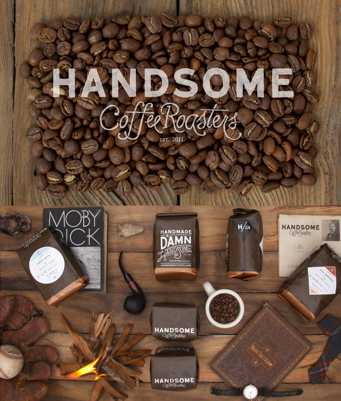 identitysystem 1 handsomecoffee thiet ke logo