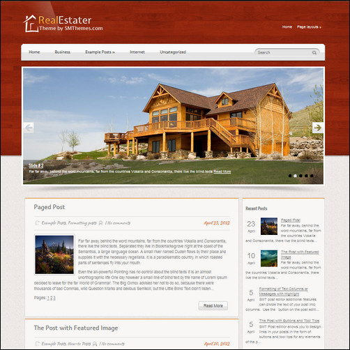 realestater thiet ke website bat dong san