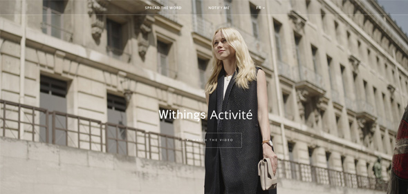 Withings-Activité-on-Behance Thiet ke website Ecommerce