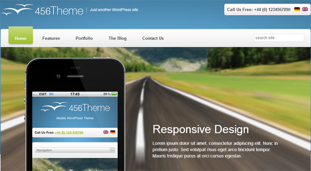 456 theme tourism wordpress responsive theme thiet ke web du lich