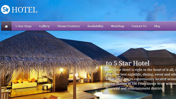 5 star tourism wordpress responsive theme thiet ke web du lich
