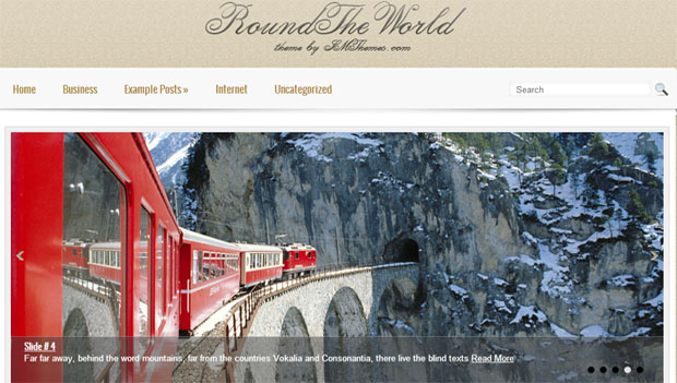 round the world tourism wordpress responsive theme thiet ke web du lich