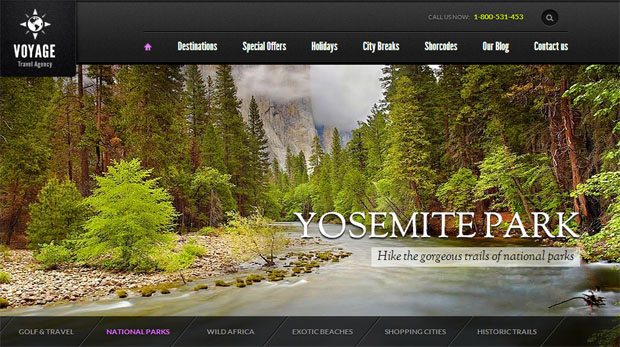 voyage tourism wordpress responsive theme thiet ke web du lich