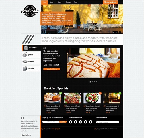 restaurant3 thumb thie ke web nha hang