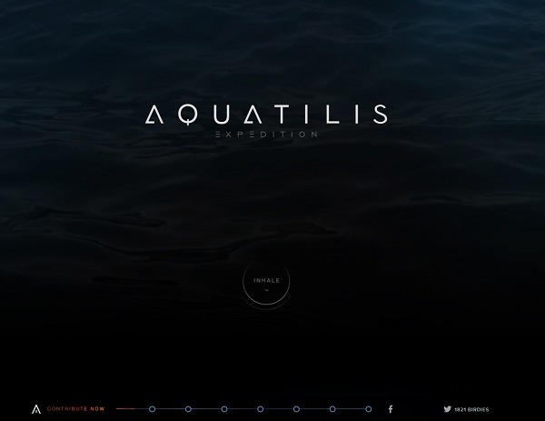 Aqualitis Website Thiet ke website don trang