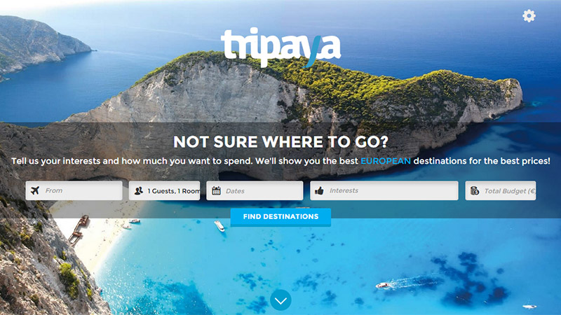 Tripaya thiet ke website dep