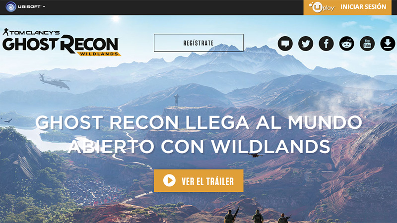 Ghost Recon thiet ke website dep
