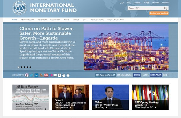 international monetary fund imf website Thiet ke website chuyen nghiep