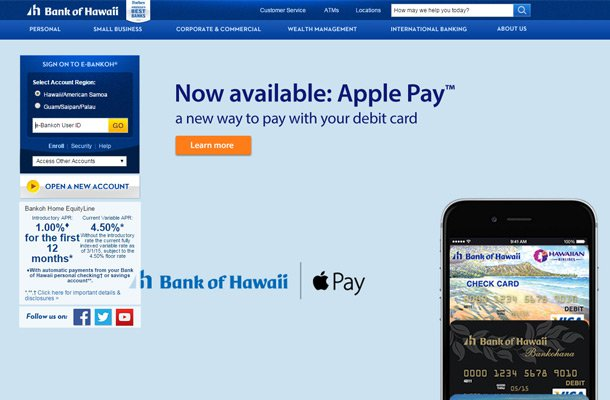 bank of hawaii website design Thiet ke website chuyen nghiep