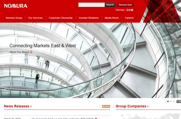 nomura capital investment group Thiet ke website chuyen nghiep