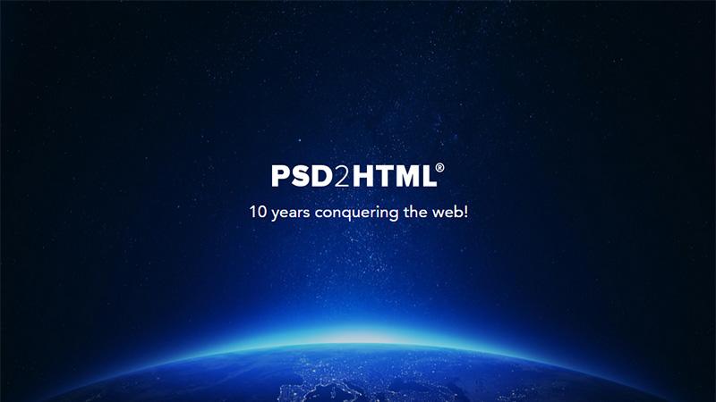 PSD2HTML thiết kế báo cáo thường niên