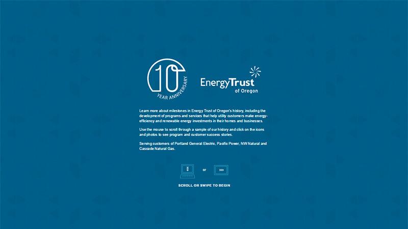 Energy Trust thiết kế báo cáo thường niên