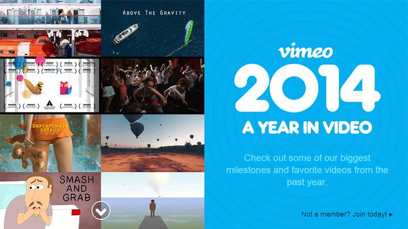 Vimeo thiết kế báo cáo thường niên