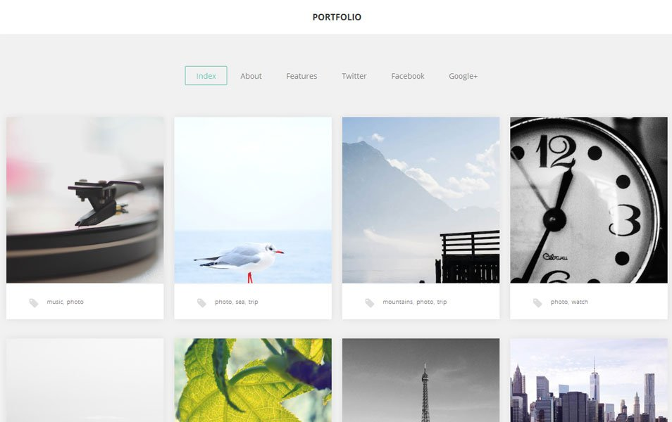 portfolio free portfolio wordpress theme thiet ke web