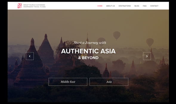 Authentic-Asia---Web thiet ke website du lich
