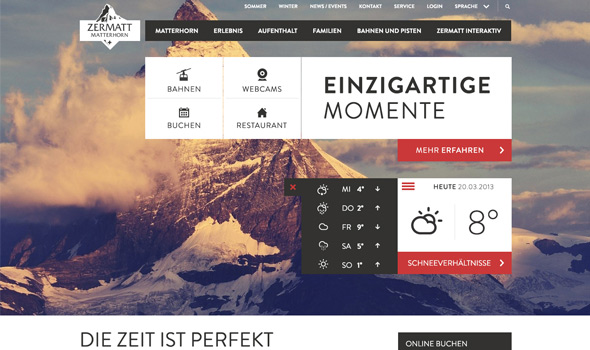 Landingpage thiet ke website du lich