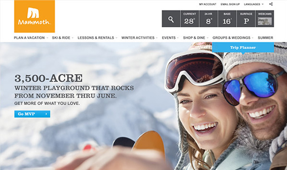 Mammoth-Resort-Website-Redesign-Pitch thiet ke website du lich
