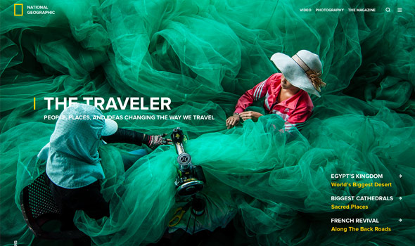 National-Geographic-Splash-Page thiet ke website du lich thiet ke website du lich