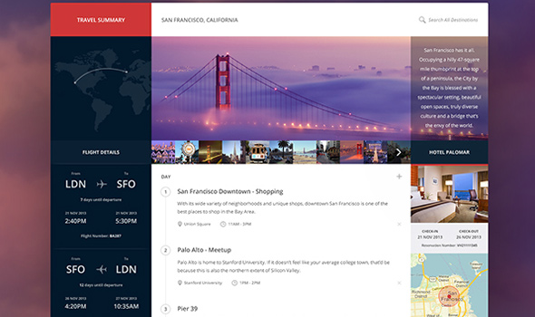 Travel-Summary thiet ke website du lich