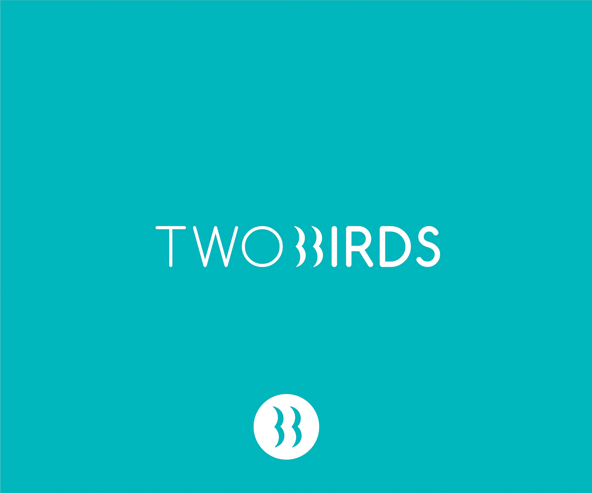 Thiết kế logo Two Birds