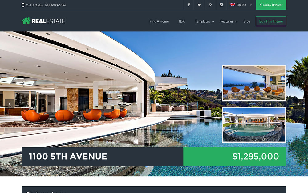 Website WordPress Real Estate