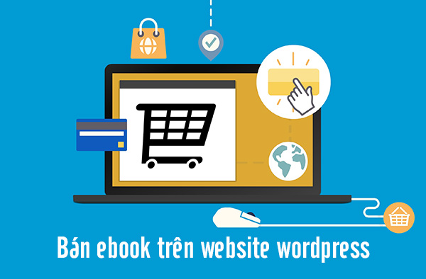 Bán ebook trên website wordpress