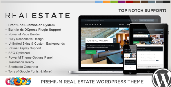 tim hieu chu de wordpress wp pro real estate 6 danh cho thiet ke website bat dong san