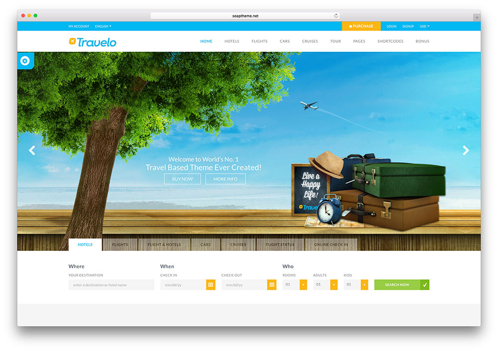 tim hieu mau thiet ke website du lich html5 travelo 2